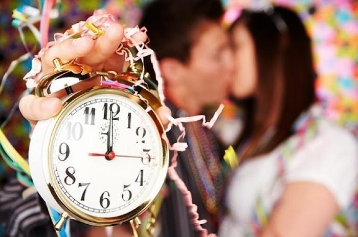 Rituales para fin de año besos