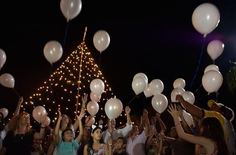 Rituales para fin de año globos