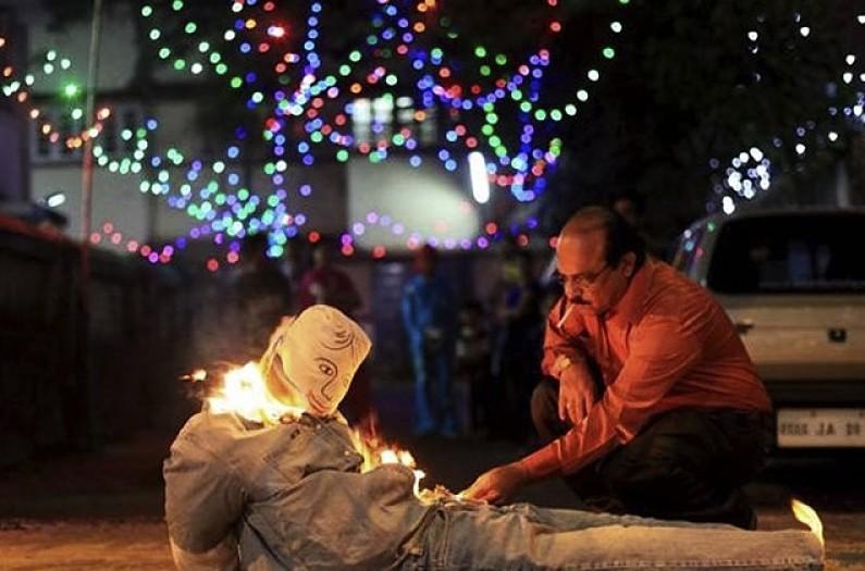 Rituales para fin de año quema de año viejo