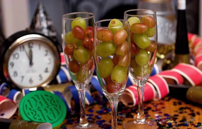 Rituales para fin de año uvas
